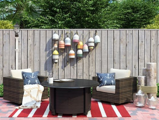 Nautical Patio Idea