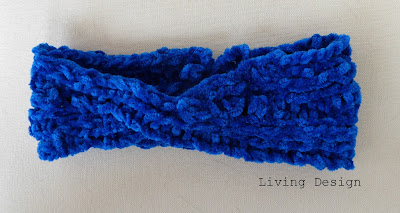 Living Design Quick Knitted Ear Warmer