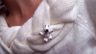 Urs Polar care doreste imbratisare
