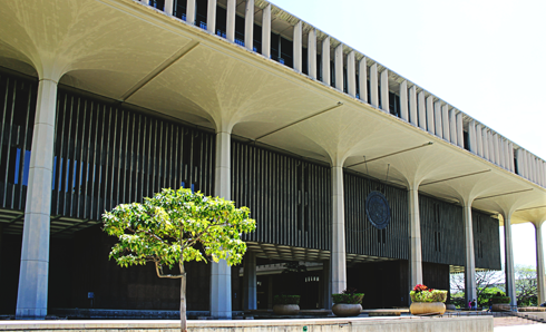 Hawaii State Capitol Honolulu