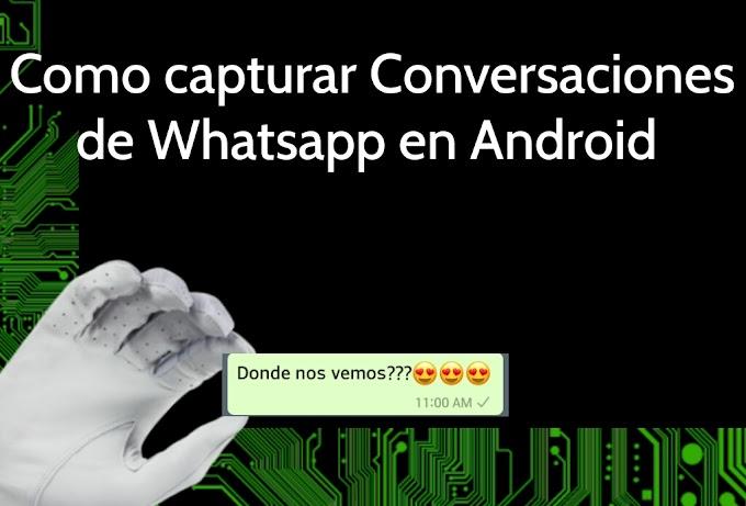 Como interceptar conversaciones de whatsapp
