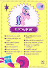 My Little Pony Wave 5 Flitterheart Blind Bag Card