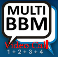 Multi BBM+BBM2+BBM3+BBM4 Video Call V3.0.1.25 Apk