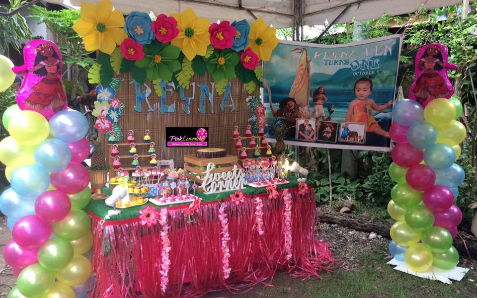 Pink Lemonade Balloons And Party Favors Cebu Reyna Ven S