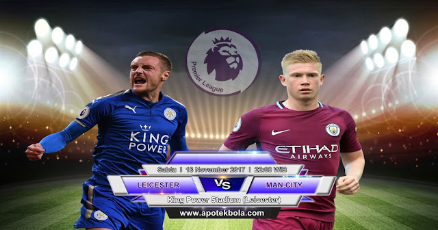 Leicester City vs Manchester City 18 November 2017