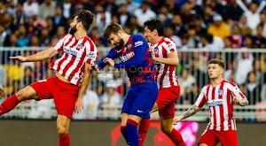 اتليتكو مدريد يقلب الطاولة على برشلونة ويضرب موعد مع ريال مدريد في نهائي كأس السوبر الأسباني