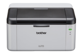 The Brother HL-1210W printer makes it easy to print multiple documents at 20 sheets per minute in A4 size