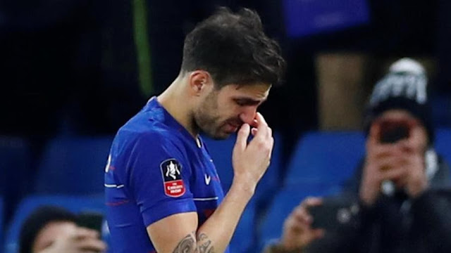 Video: Fabregas In Tears For Chelsea Farewell