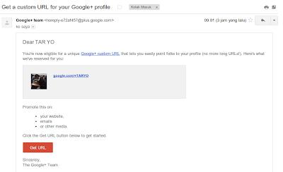 Cara Mudah Merubah URL ID pada Google Plus