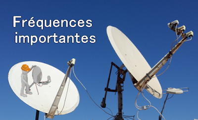 ترددات مهمة لتركيب الهوائي Fréquences importantes pour l'installation d'antennes