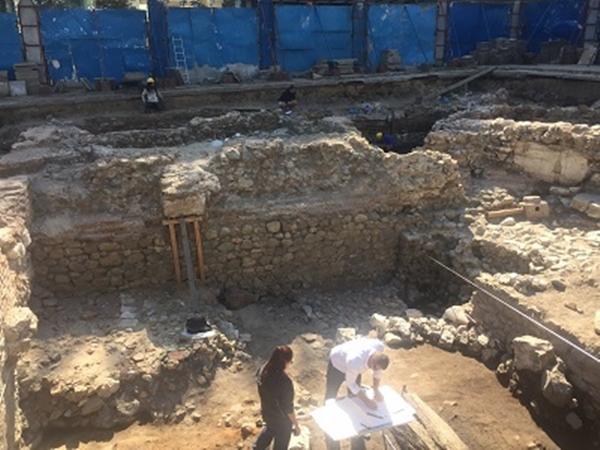 Roman era tavern, shops found under Sofia's Sveta Nedelya Square