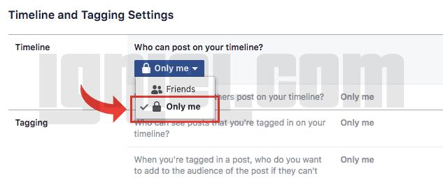 Cara Agar Teman Tidak Bisa Menulis Wall Di Facebook