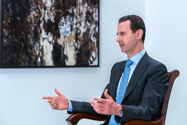 الرئيس الأسد: الجنوب السوري أمام المصالحة أو التحرير بالقوة.المقابلة كاملة (فيديو)