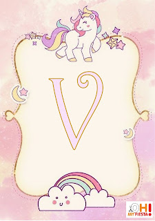 Alfabeto Unicornio My Little Pony
