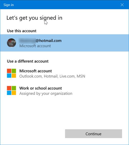 تسجيل الدخول والخروج من Sticky Notes فى تحديث مايكروسوفت