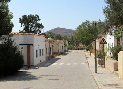 El pueblo de Rodalquilar en Cabo de Gata