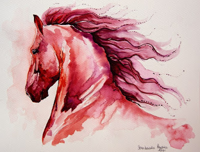 Horses in Art: An Interview with Artist Paulina Stasikowska by Gina McKnight