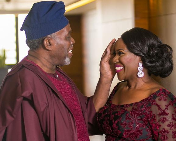 Image result for Olu Jacobs and Joke Silva Naijagists
