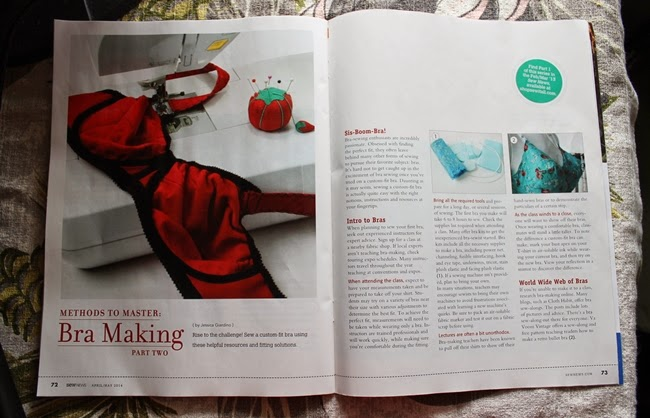 sew news magazine va voom vintage bullet bra free pattern