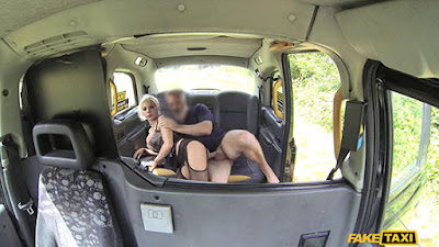 FakeTaxi – Barbie Sins (Deepthroat Gagging MILF Gets Facial )