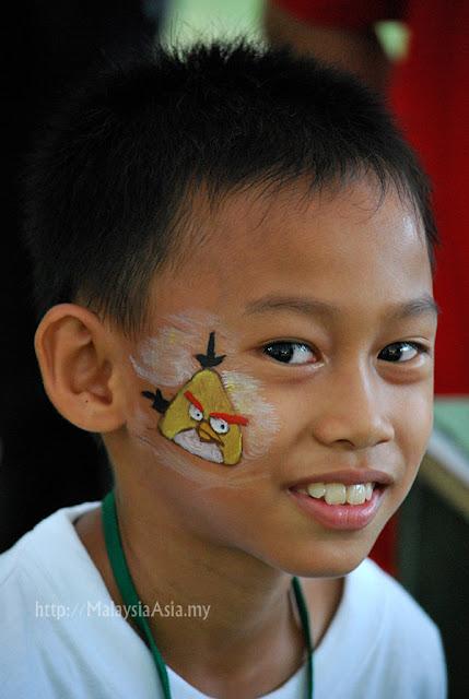 Sabah Face Painting
