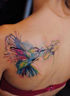 Flutter Passaro De Volta Tatuagens