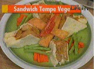 akan membagikan resep masakan lezat terbaru untuk anda Resep Sandwich Tempe Vegetarian Chef Vania Wibisono