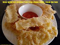 Resep spesial cara membuat Telor Crispy dengan mudah, renyah dan Enak