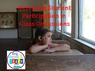 Increasing Student Participation in Class Discussions