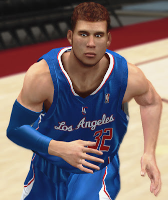 NBA 2K13 Blake Griffin Cyberface NBA 2K Mods