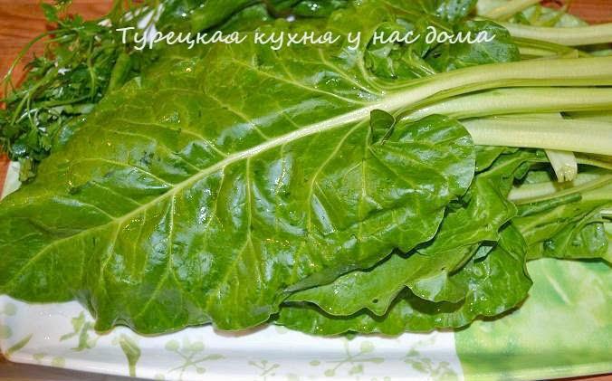 Мангольд или листовая свекла