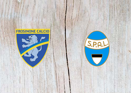 Frosinone vs SPAL - Highlights 31 March 2019