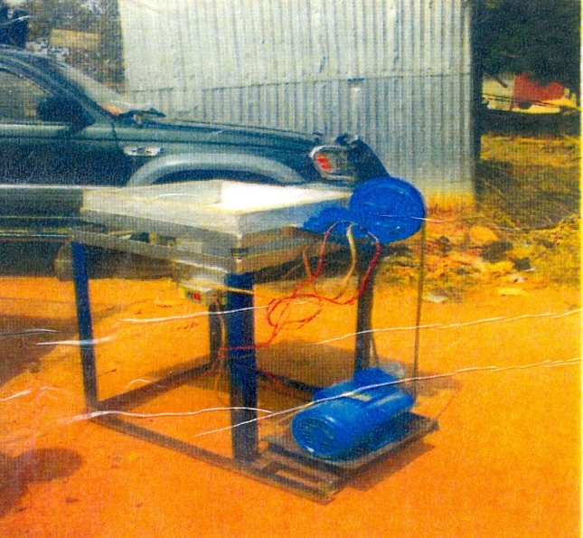 OUTECH WELDING VENTURES LIMITED: Garri Production Machines And Equipment