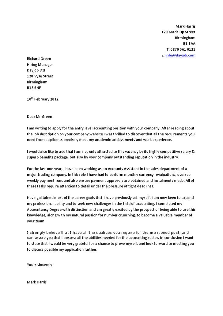 Contoh Surat Lamaran Kerja Dalam Bahasa Inggris Untuk