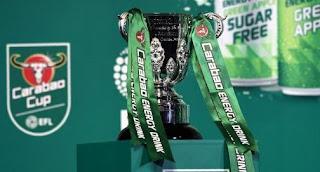 Jadwal Piala Liga Inggris - Carabao Cup 2018