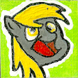Derpy Hooves Canvas Magnet / Pin