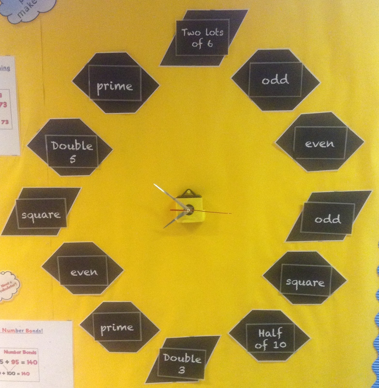 Primary Ideas: Our Own Maths Clock