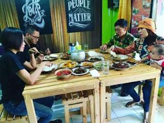 Warung makan masakan khas rumahan di cimahi