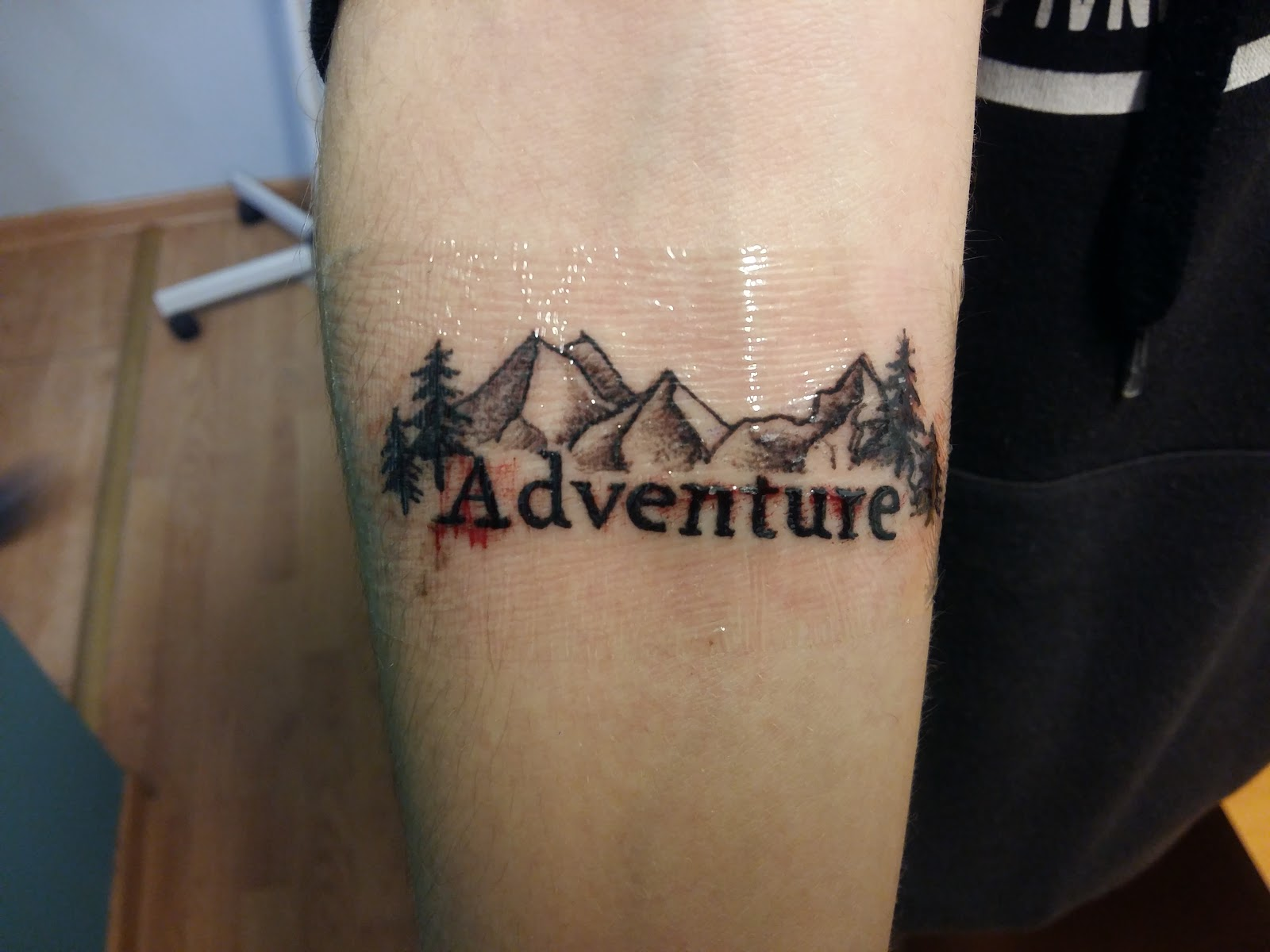 Zakręcony Adrian Mój Trzeci Tatuaż