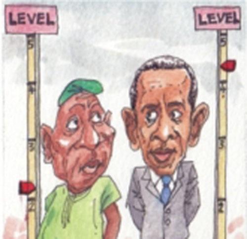 Obama, Hillary, Sanders, Obasanjo and Yar'Adua