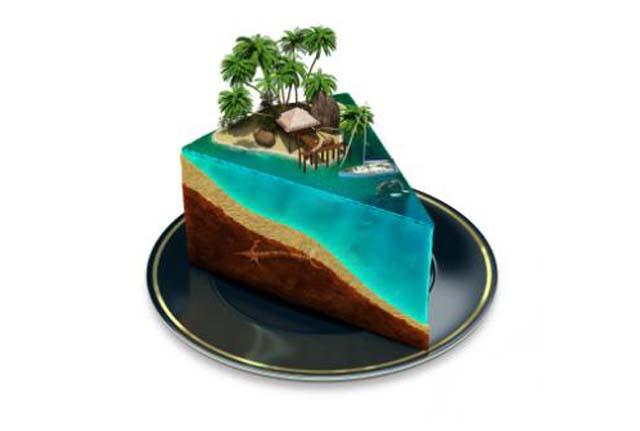 Super Beach Birthday Cake Ideas Funny Birthday Cards Online Overcheapnameinfo