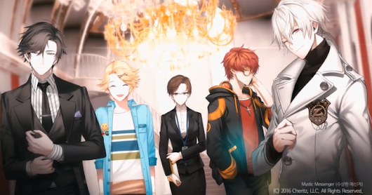 Mystic Messenger yang sering bikin Baper - The Story of My life