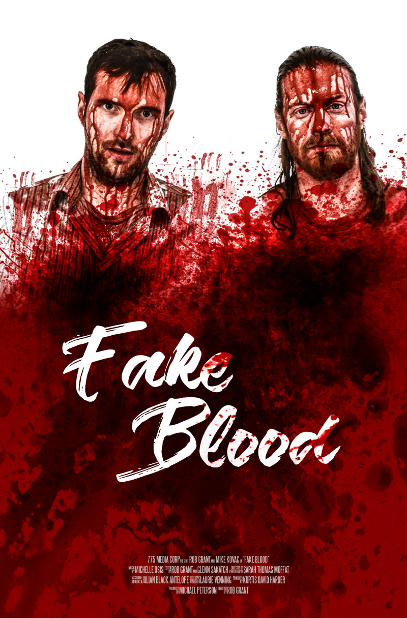 fake blood movie poster