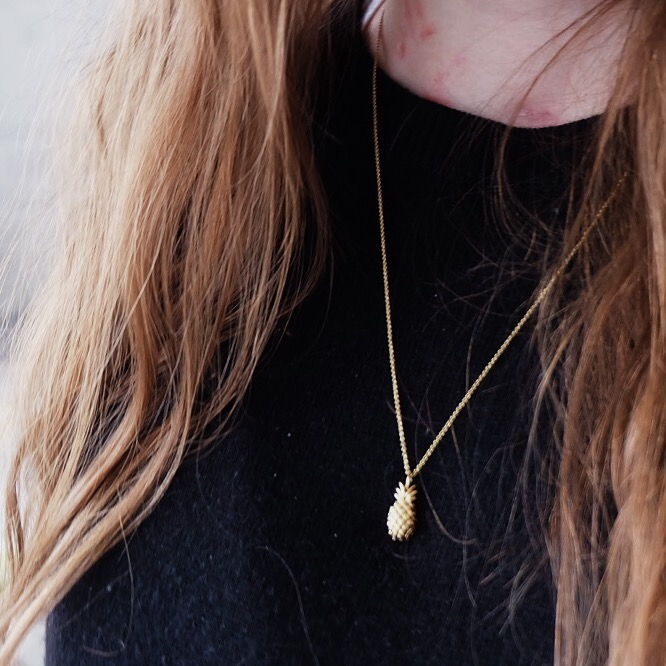 whistles pineapple necklace, asos kimmi jeans review