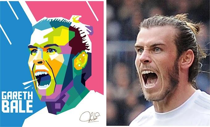 Gareth Bale in WPAP