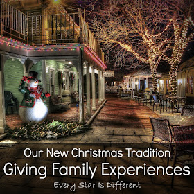 Giving Family Experiences-Our New Christmas Tradition