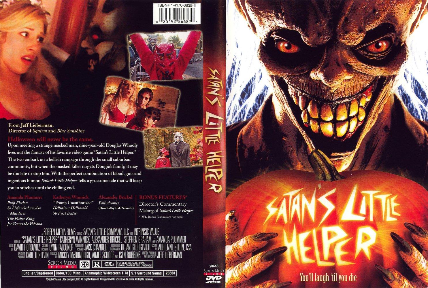 the horrors of halloween satan s little helper 2004 vhs and dvd
