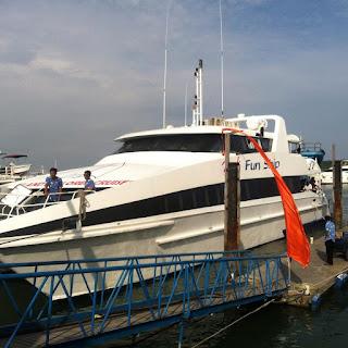 Ke Nusa Penida dari Pulau Bali