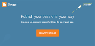 sign in to blog
