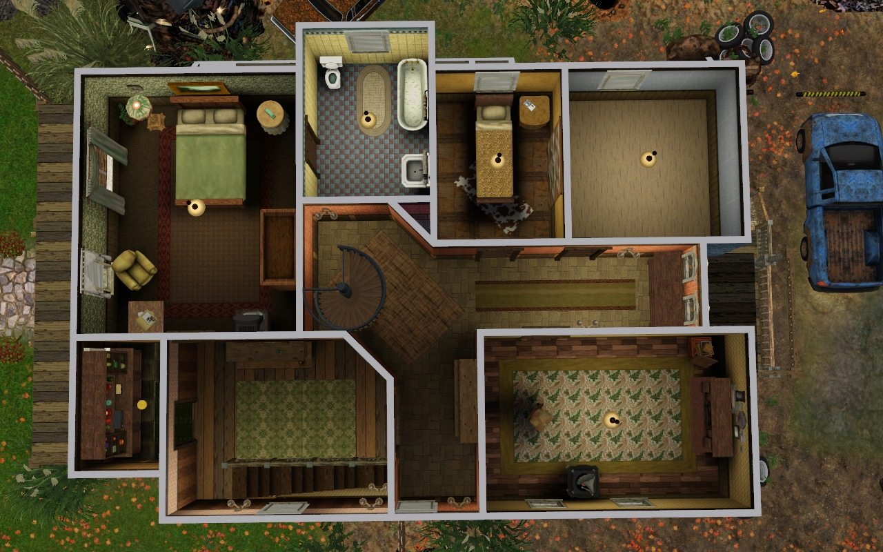 My Sims 3 Blog Bobby S House Supernatural By Aya20